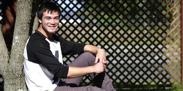 Tauranga Boys' College student Dylan Donne advises other young students   to ``find who you want to be and just work hard'' Photo/George Novak.