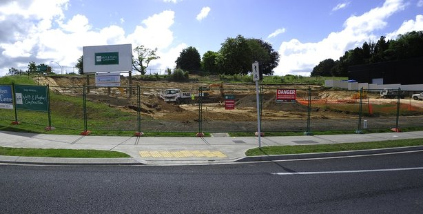 Work has begun on the construction of the new Bethlehem Birthing Centre, expected to open next year. Photo / George Novak