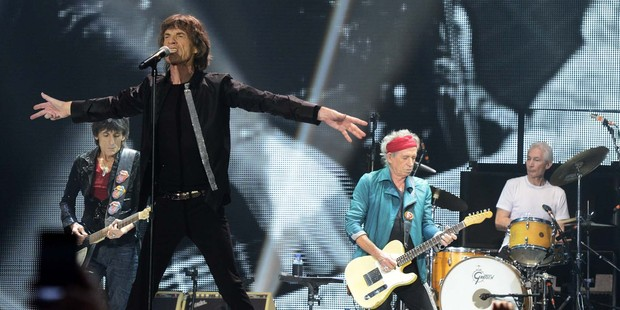 The Rolling Stones will be playing a one-off concert in Auckland next year. Photo / Getty Images