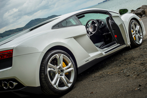The Gallardo will hit 100km/h in just 3.9 seconds. Pictures / Ted Baghurst