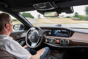 Mercedes-Benz's S-Class Intelligent Drive is on sale here, but the next auto-pilot upgrade will improve the sensitive video cameras and sensors to make them more capable.