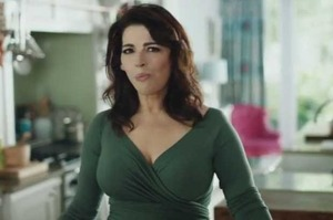 Nigella Lawson appearing in an advertisement for Whittakers Chocolate. Photo / file