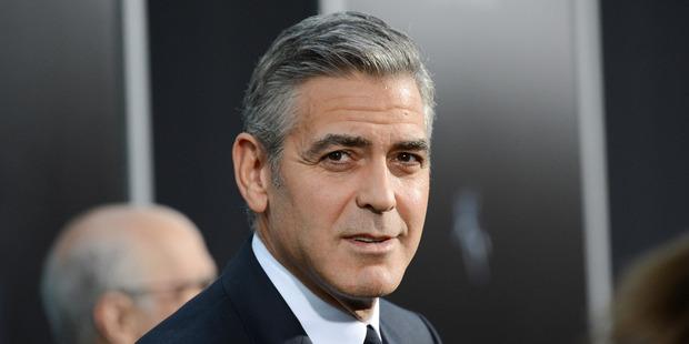 Actor George Clooney. Photo / AP
