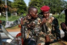 Seleka soldiers patrol in Bangui, Central African Republic. Photo / AP
