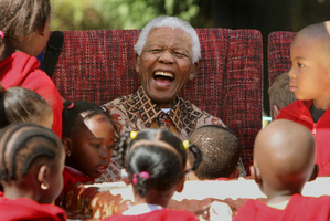 Former South African President Nelson Mandela. Photo / File / AP