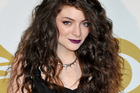 Lorde poses backstage at the Grammy Nominations Concert Live! in Los Angeles. Photo / AP