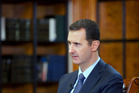 Syrian President Bashar al-Assad. Photo / AP