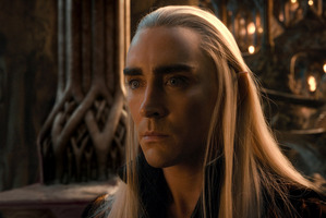 Lee Pace as Thranduil in The Hobbit: The Desolation of Smaug: