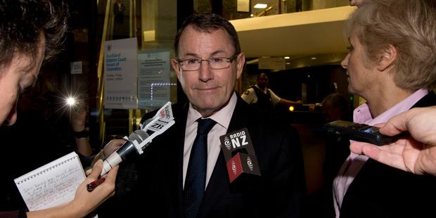 MP John Banks. Photo / Brett Phibbs