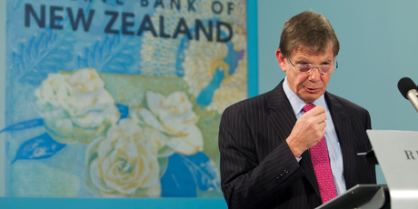 Reserve Bank Governor Graeme Wheeler. His mortgage rule changes are starting to hit home. Photo / Mark Mitchell