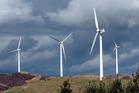 Meridian Energy Te Apiti Wind Farm on the Ruahine Ranges.