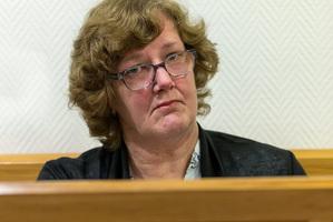 Helen EMilner in court today. Photo / Martin Hunter
