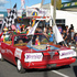 Kaikohe Speedway won the non-profit category for best float. Photo / Peter de Graaf