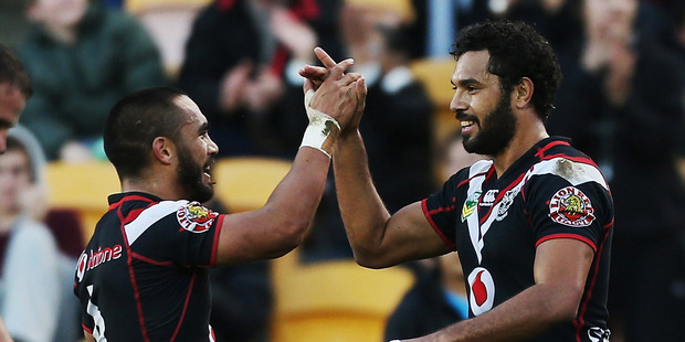 The Warriors will host their first three Auckland-based home games of the year at Eden Park. Photo / Getty Images.