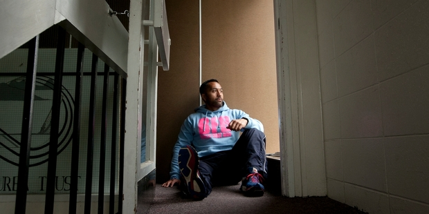 Bully Free Bro co-ordinator Warren Tumarae says he knows what it's like to be bullied. Photo/Ben Fraser.