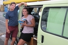 William Sheldon and Isabel Boanas-Evans, whose bags were stolen from their van at the i-Site in Whangarei.