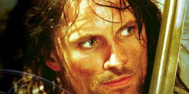 Viggo Mortensen 'Aragorn' sword.