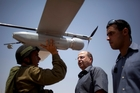 Military and police use of unmanned aerial vehicles, as in Israel, increase the possibilities of for covert and possibly illegal surveillance of citizens. Photo / AP