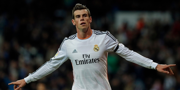 Real Madrid's Gareth Bale has been hailed as the 'Prince of Goals' by the Spanish media. Photo / AP
