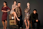The Nothing Trivial cast (from left, Nicole Whippy, Tandi Wright,  Shane Cortese, Debbie Newby-Ward and Blair Strang) understand why the fans are upset.