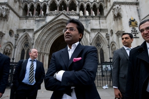 Former IPL chairman Lalit Modi wants stronger match-fixing deterrents. Photo / AFP