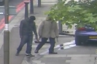 Video footage played to a jury in the Lee Rigby murder trial. Photo / Metropolitan Police