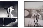 Left: Horst P Horst, Mainbocher Corset. American Vogue © Horst Estate / V&A. Right: Melvin Sokolsky. American Harper's Bazaar © Melvin Sokolsky / V&A