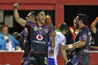 Shaun Johnson is expected to feature for the Warriors at the NRL Nines. Photo / Richard Robinson