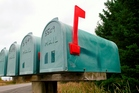 The woman left an envelope containing the cheque in her rural mail box on Tram Rd and put the red flag up. Photo / File / Thinkstock