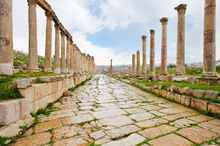 Jerash has the most impressive Roman ruins in Jordan. Photo / Thinkstock