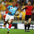 Marcus Watson of England runs away to score during the Pool A match between England and Spain. Photo / Getty Images