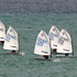 Optimist yachts sail off Narrow Neck Beach, during the Auckland Anniversary Day Regatta in Auckland. Photo / Brett Phibbs