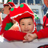 A young Welsh supporter during the rugby sevens parade in Wellington. Photo / Mark Mitchell