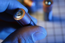 The electromagnetic harvester takes surrounding energy and uses it to charge a normal AA battery. Photo / Thinkstock