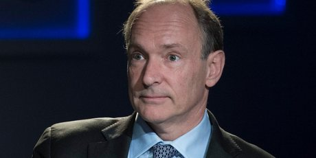 Tim Berners-Lee. Photo / AP