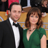 Vincent Kartheiser, left, and Alexis Bledel arrive on the red carpet. Photo / AP