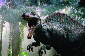 A scene from the 2003 film Jurassic Park 3. Photo / File photo