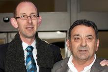 David Bain with Joe Karam. Photo / File photo