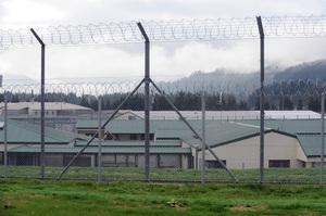 Rimutaka Prison, Upper Hutt, New Zealand. Photo / Ross Setford