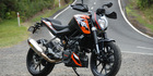 View: KTM 200 Duke