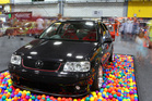 A modified Volkswagen Polo on show at the 4 & Rotary annual show in Auckland over the weekend.