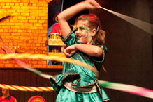 Auckland Community Circus works with all ages. Photo / Karen Abplanalp