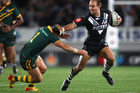 Winger Jason Nightingale says the Kiwis are targeting a faster start against Australia in this year's tests.  Photo / Getty Images