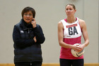 Wai Taumaunu and Casey Williams at training. Photo / Getty Images
