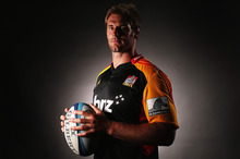 Co-captain Craig Clarke strikes a thoughtful pose during the Chiefs' photo shoot.  Photo / Getty Images