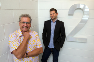 Brian Richards and Julian Smith are leading change at top brand strategist company BRR.  Photo / Brett Phibbs