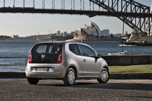 Volkswagen NZ will not bring in the up! hatchback, although it was launched in Australia late last year. Photo / Supplied