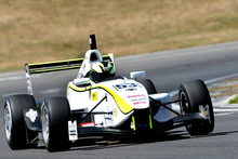 Michael Scott racing in the Toyota Racing Series at Hampton Downs over the weekend.  Photo / Geoff Ridder