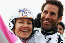 Elina and Richard Ussher made history last year with their Longest Day win.  Photo / Getty Images