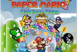 Paper Mario: Sticker Star. Photo / Supplied